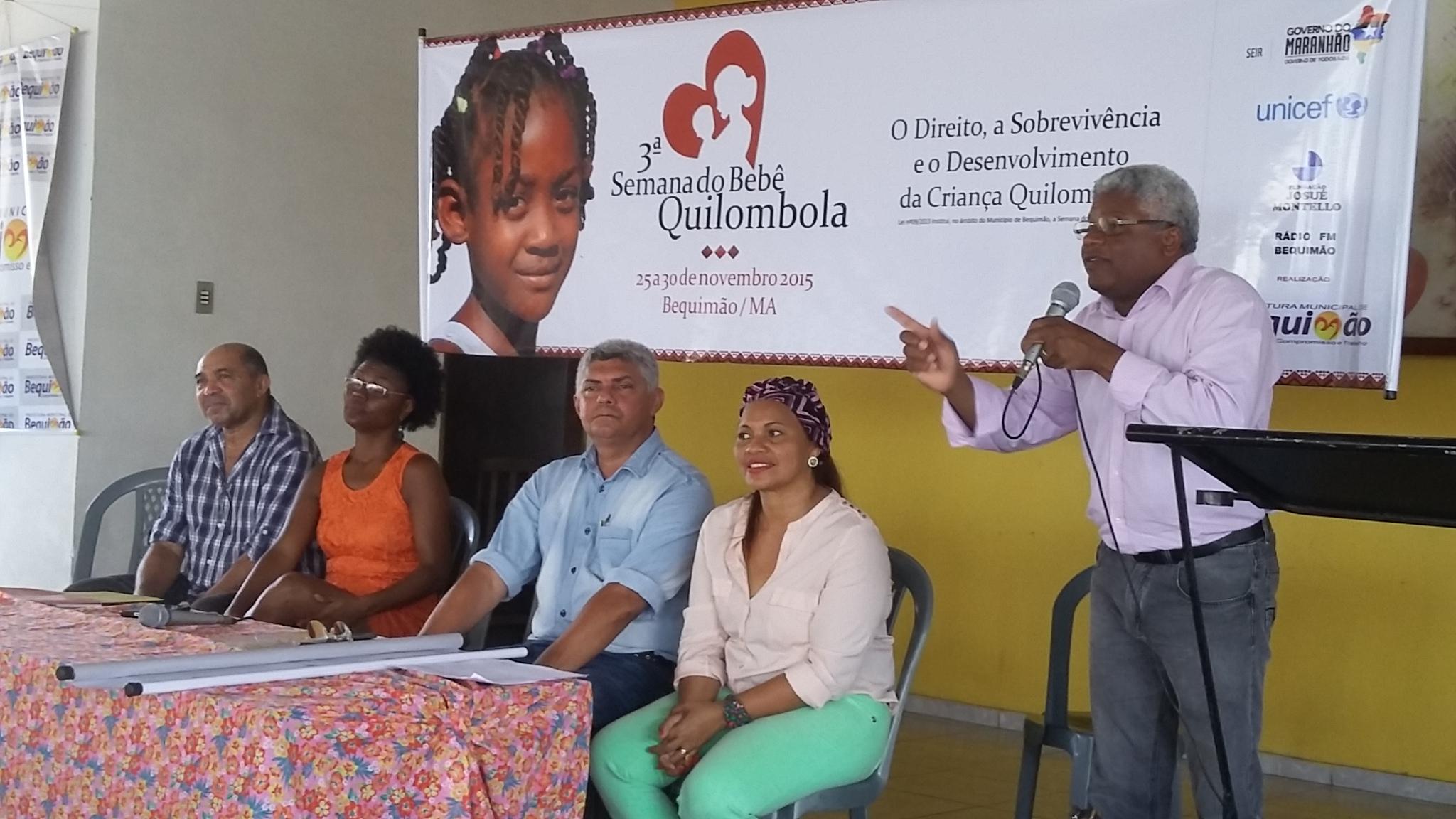 Foto 2 - Secretário Gerson Pinheiro falando das ações do Governo do Estado para a superação do baixo IDH