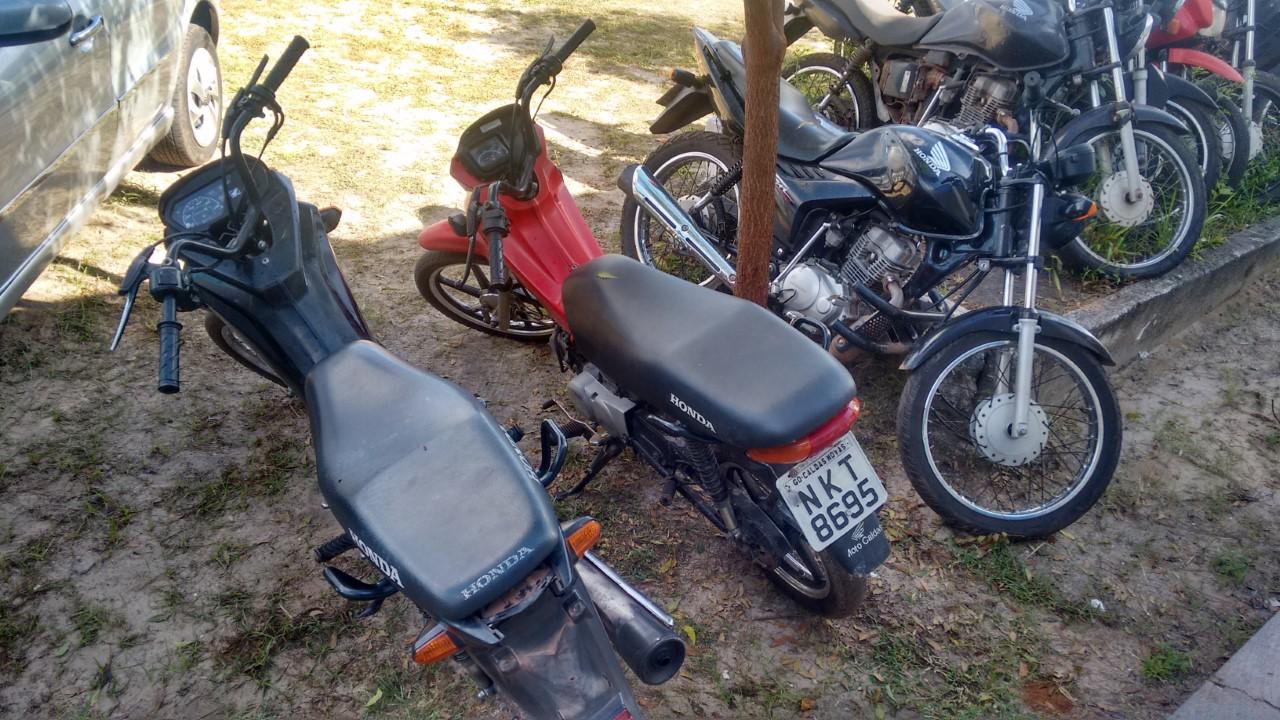 moto encontrada