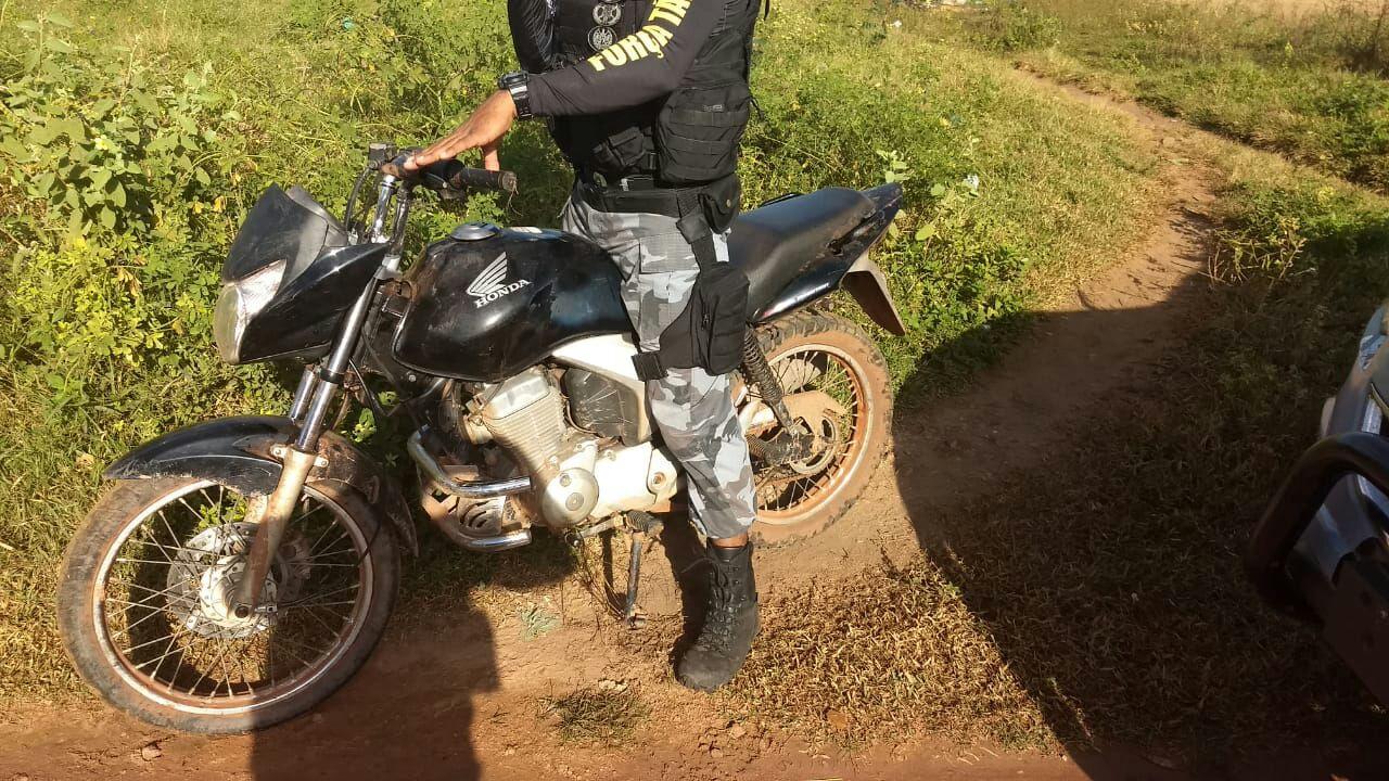 moto abandonada sábado